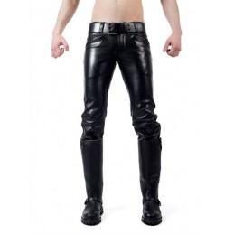 Mister B Leder Ranger Jeans...