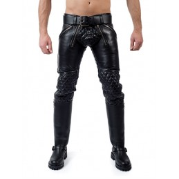 Mister B Leather Padded...